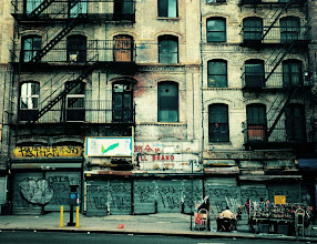 Photo: Urban decay.   Chinatown, New York City.  View the writing that accompanies this post here at this link on Google Plus:  https://plus.google.com/108527329601014444443/posts/2ER7tLPDCZg  View more New York City photography by Vivienne Gucwa here:  http://nythroughthelens.com/