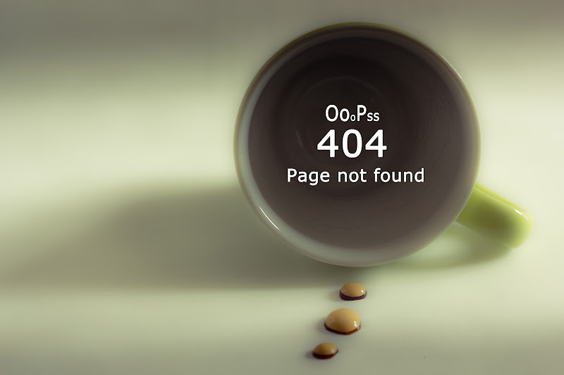 OooPss 404 page not found di enricodot