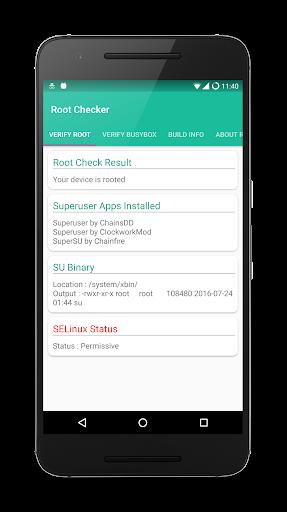 Root Checker 2.0 screenshots 1