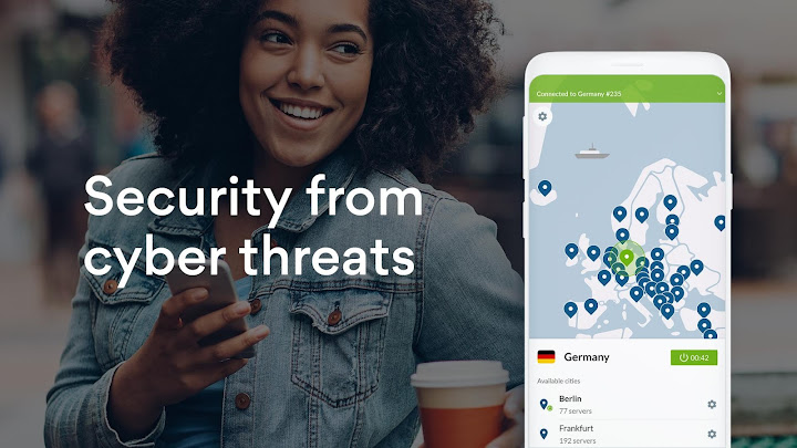 NordVPN: Private WiFi & Security - Unlimited VPN Android App Screenshot