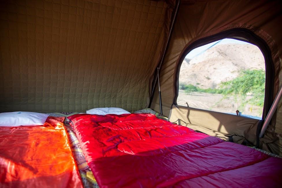 Z namiotem po Omanie, kemping