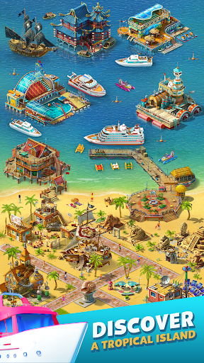 Paradise Island 2: Hotel Game android2mod screenshots 7