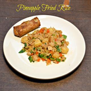 Pineapple Fried Rice with a Thai Kick + Vegan Eats World Cookbook