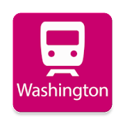 Washington Rail Map