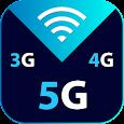 Internet Speed Meter - WIFI Coverage & Speed Test