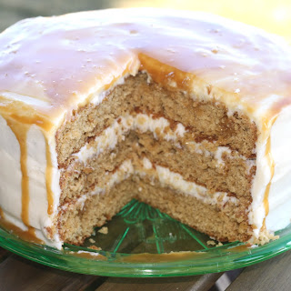 Caramel Sea Salt Cake Recipes.