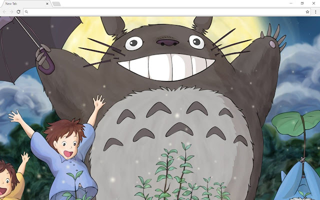 My Neighbor Totoro Wallpapers & New Tab