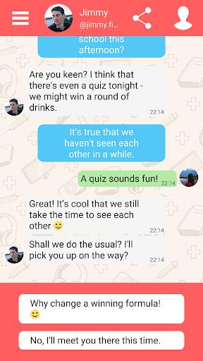 Hey Love Adam: Texting Game 1.91 screenshots 6