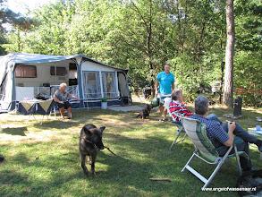 Photo: De camping wordt wakker