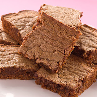 Melt-In-Your-Mouth Peanut Butter Brownies.