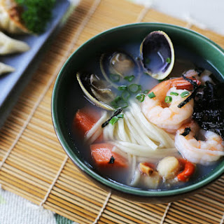 Seafood Udon Recipes.