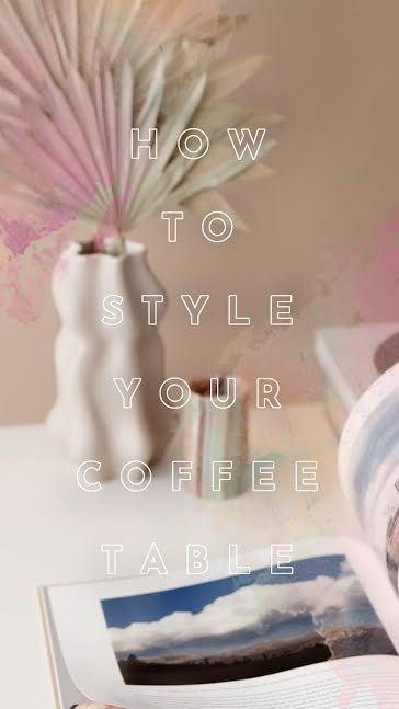 Coffee Table Style - Video template
