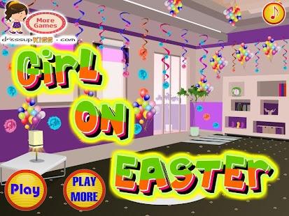 Girl-on-Easter