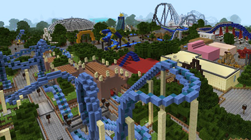Amusement Park maps for Minecraft PE 2.3.29 screenshots 4