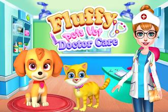 Fluffy Pets Vet Doctor Care screenshot thumbnail
