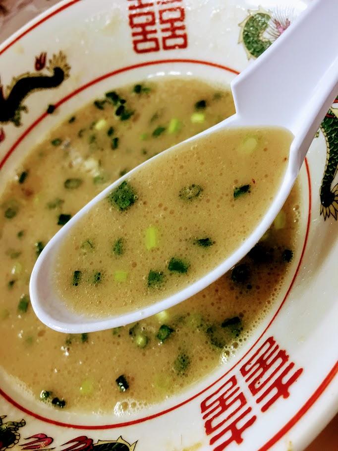 豚骨スープ 魂龍
