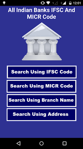 Indian Banks IFSC MICR Code