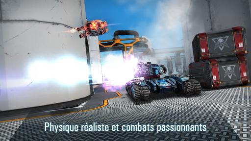 Robots VS Tanks: Batailles multijoueur tactiques APK MOD – Pièces Illimitées (Astuce) screenshots hack proof 1