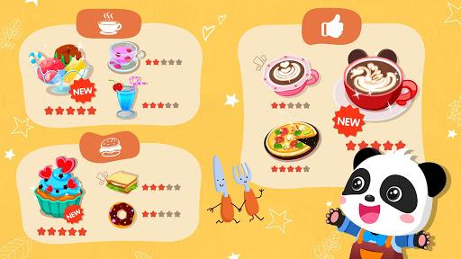 Verão do Bebê Panda: Cafeteria screenshot 5