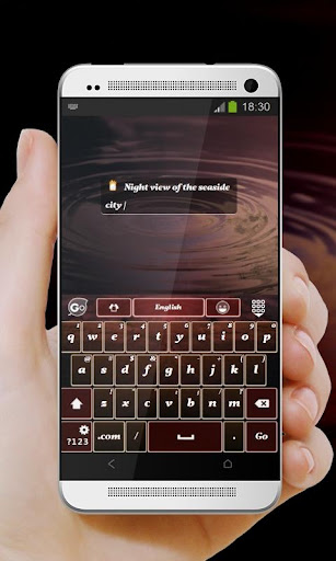 玩個人化App|市夜光 GO Keyboard Theme免費|APP試玩