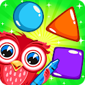 Shapes & Colors Learning Games for Kids, Toddler🎨 icon
