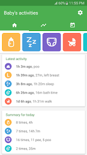 Baby tracker - feeding, sleep and diaper - náhled