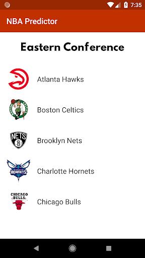 NBA Predictor 1.04 screenshots 1