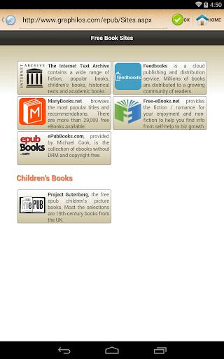 ePub Reader for Android 2.1.2 screenshots 20