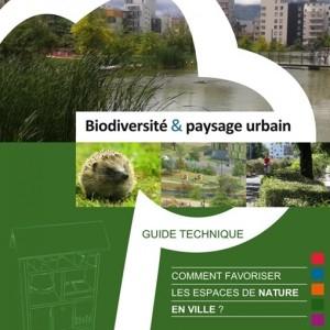 guide biodiversité et paysage urbain