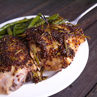 Honey Dijon and Rosemary Chicken Thighs