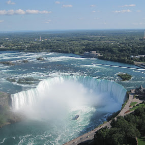 Niagara Falls ... by Morris Kleyman - Landscapes Waterscapes (  )