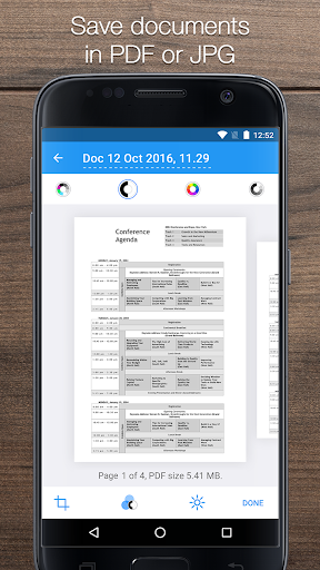 iScanner: Free Portable PDF Scanner App 1.9 screenshots 2