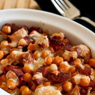 Chickpea & Chorizo Casseroles