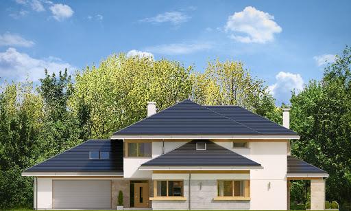 Dom z widokiem 4 - Elewacja przednia