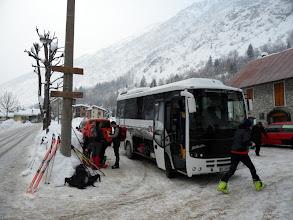 Photo: dopo un tranquillo viaggio in autobus pronti per la partenza