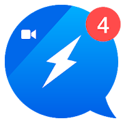 App Icon for The Fast Video Messenger App for Video Calling App in Denmark Play Store