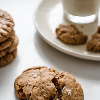 Flourless Maple Cinnamon Almond Butter Cookies.