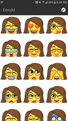 EmojiU - An avatar emoji maker - screenshot