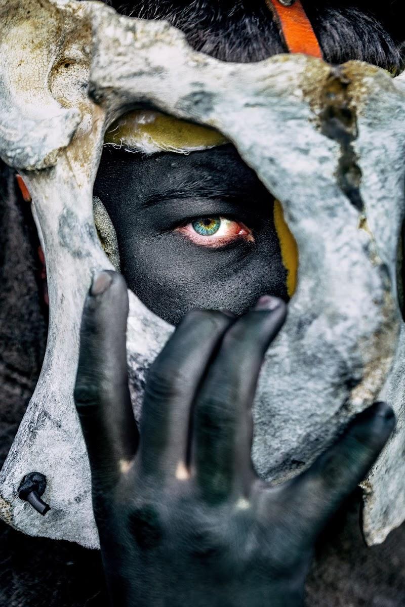 S'omadori, Maschera della tradizione Sarda di Corda Davide