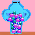 Fit and squeeze Balls 3D icon