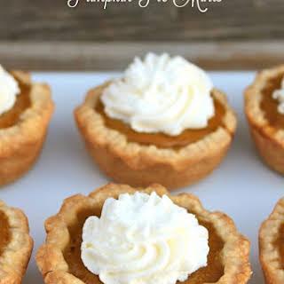 Make It Monday- Pumpkin Pie Minis.