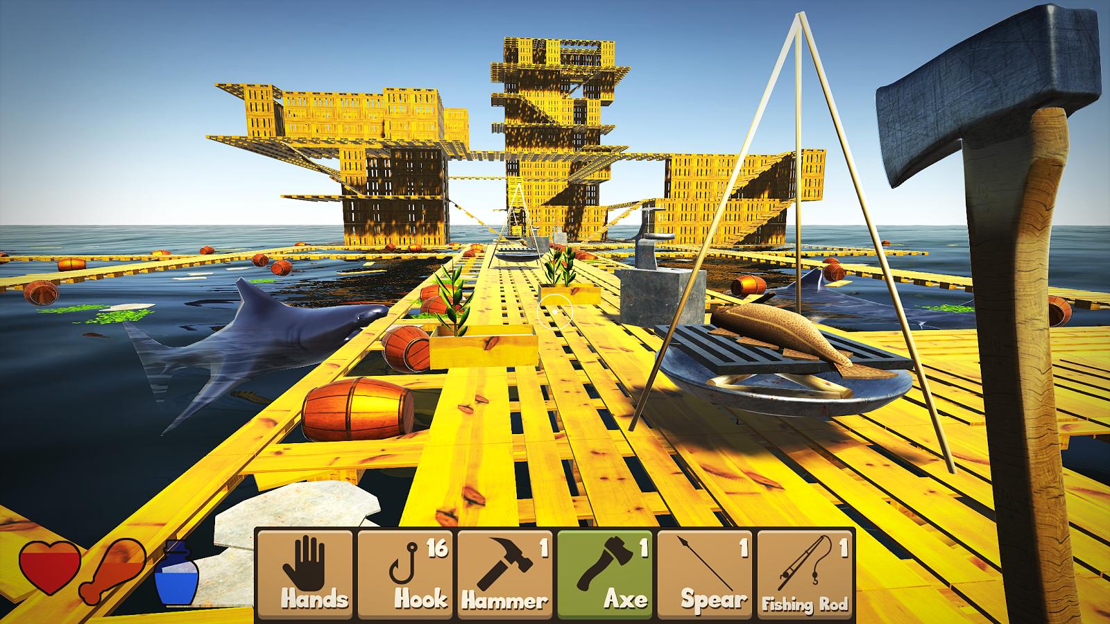 MOD Raft Survival Simulator Unlimited Money (Increase) - VER. 1.6