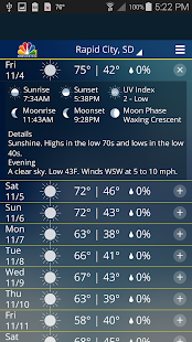 NC1 Weather - náhled