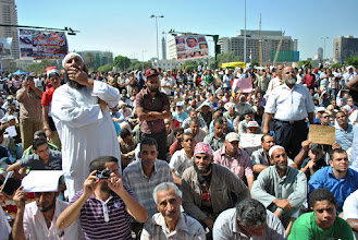 Photo: More Egyptians gather in Tahrir Square to oppose the interim military government known as the Supreme Council of the Armed Forces (SCAF).