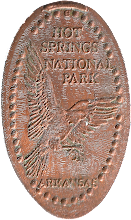 Photo: Hot Springs National Park penny