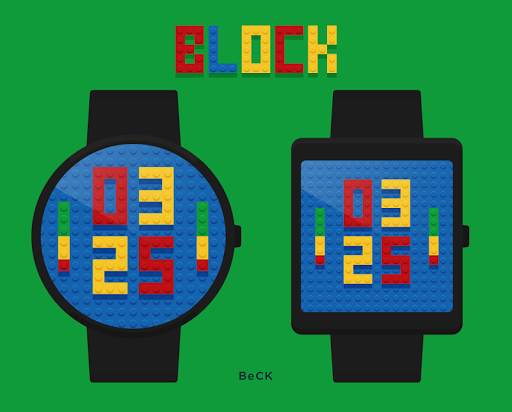 Block watchface by BeCK