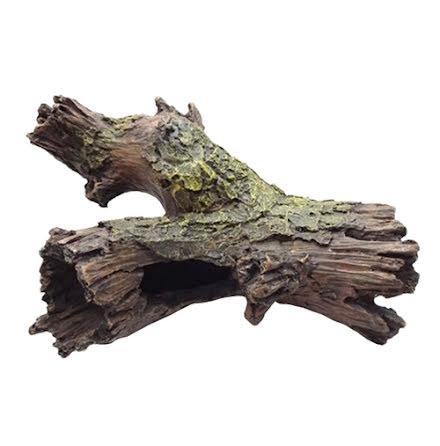 Trädgren med håligheter 24x17x9cm
