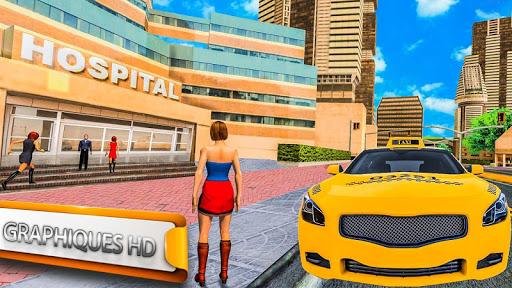Véritable simulateur de taxi urbain  captures d'écran 2