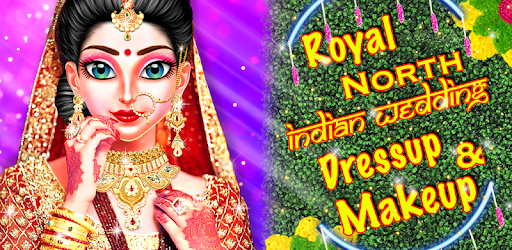 Welcome to Royal North Indian Wedding Makeup and Dress up Girls game.
