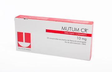MUTUM CR 10MG TABLETAS   CAJA X 20 TAB. TECNOFARMA OXIBUTIN